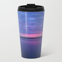 Colorful Sunrise Metal Travel Mug