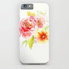 Spring Flowers - Watercolor Slim Case iPhone 6s