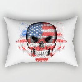 To The Core Collection: USA Rectangular Pillow