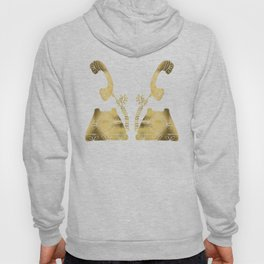 Vintage Rotary Phone – Gold Palette Hoody