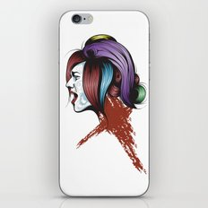 Color your life iPhone & iPod Skin
