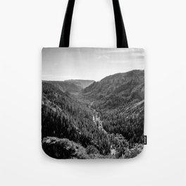 Black & White Arizona Tote Bag