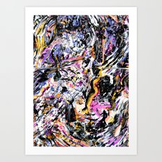 Your Rocky Spine // Great Lake Swimmers Art Print