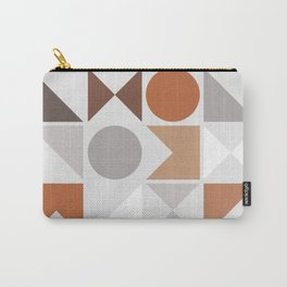 Mid Century Modern Geometric 16 Carry-All Pouch