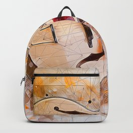 Electric Guitar Art Backpack