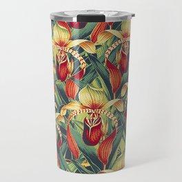 Vintage Garden 14 (Orchid Paradise) Travel Mug