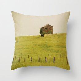 Summer Pastures Throw Pillow