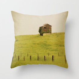 Summer Pastures Throw Pillow