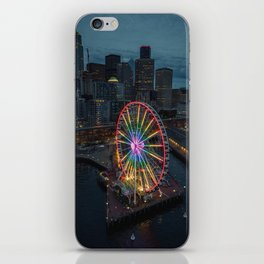 The Great Wheel iPhone Skin