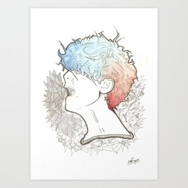 Cold 2 Art Print