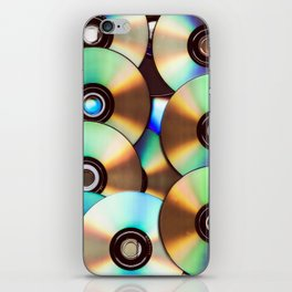 CD Pattern iPhone Skin