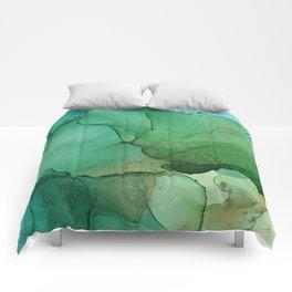Tropical island Comforters