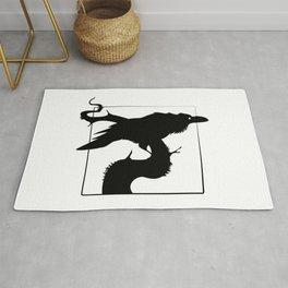 Raven Silhouette III Rug