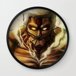 Armored Titan artwork Wall Clock