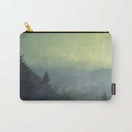 Mist over valley - view of Valmalenco / Italy Carry-All Pouch