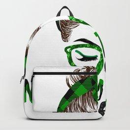 Lucky Nursery Teacher St Patricks Day Irish Shamrock Nurse Backpack