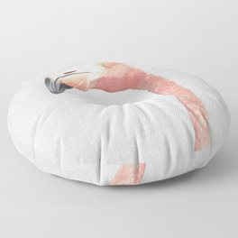 Flamingo - Colorful Floor Pillow