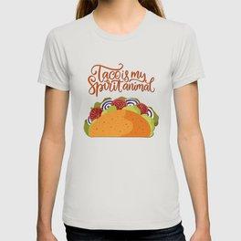 Mexico - Taco - My Spirit Animal - light T-shirt