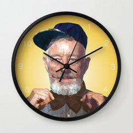 Urban-Wan Kenobi / Gold Wall Clock