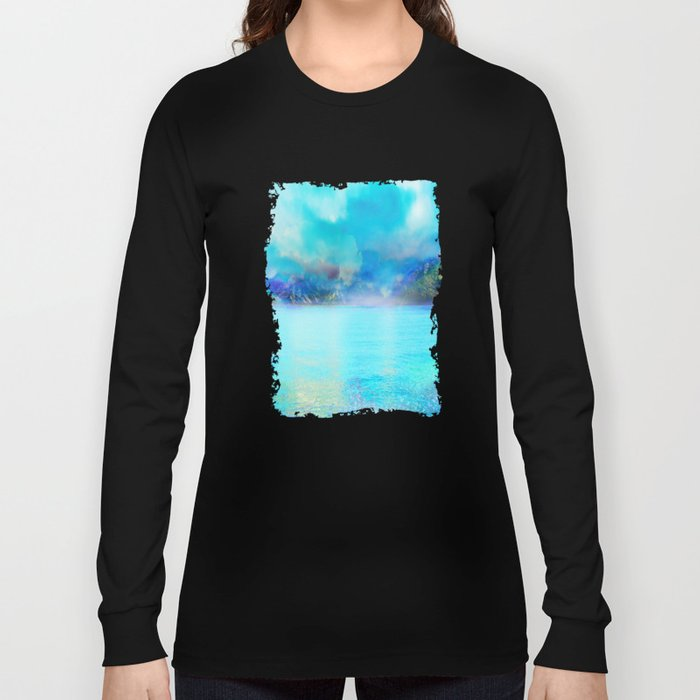 Fantasy Landscape Long Sleeve T-shirt