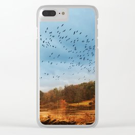 Good Migrations Clear iPhone Case