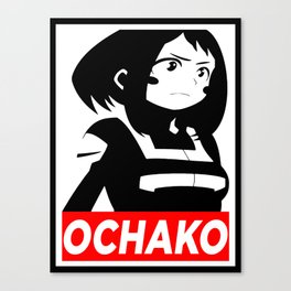My Hero Academia Ochako Uraraka Canvas Print
