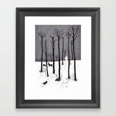 Mister Yeti's Great Escape Framed Art Print