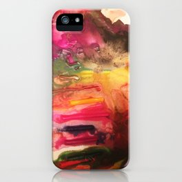 Rainbow Drizzle iPhone Case