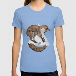 The Fox Who Lost His Tail T-shirt