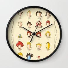 The Marvelous Cartoon Wigs Museum Wall Clock