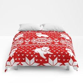 Fair Isle Westies Comforters