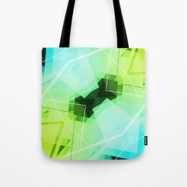 Revive - Geometric Abstract Art Tote Bag