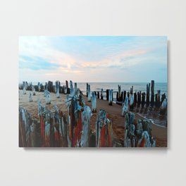 Sentinels at Sunset Metal Print