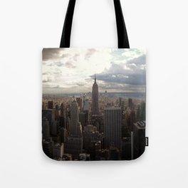 New York Skyline 1 Tote Bag