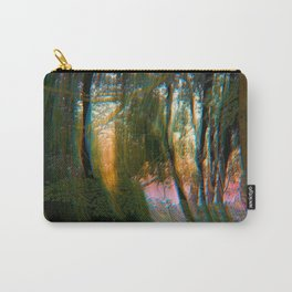 Trippy Trees Carry-All Pouch