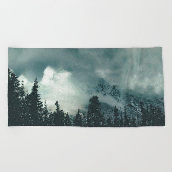 Mountain Majesty Beach Towel