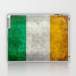 Flag of Ireland, Vintage retro style Laptop & iPad Skin
