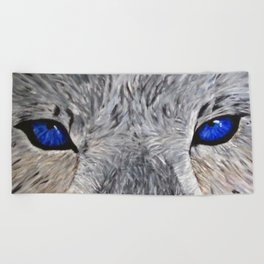 The Eyes Have it! Beach Towel