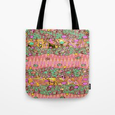 Vintage Whimsy Tote Bag