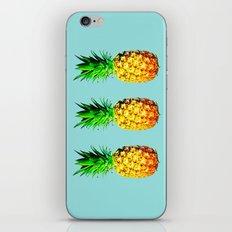 Fresh pineapples  iPhone Skin