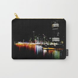 Brisbane River Print Carry-All Pouch