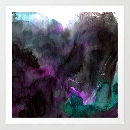 Vellum Bliss No. 7-2H by Kathy Morton Stanion Art Print