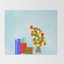 The Tipsy Tree Throw Blanket