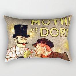 """Théophile Steinlen """"Mothu et Doria"""" Rectangular Pillow"""