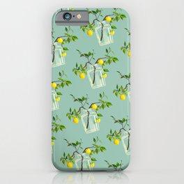 Lemon Tree Green  iPhone Case