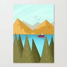 The View Canvas Print