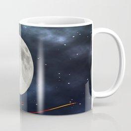 Fire streaks in the universe Coffee Mug