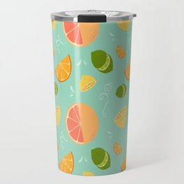 Les Agrumes (Citrus) Pattern Travel Mug
