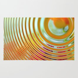 Ripples in Time Rug