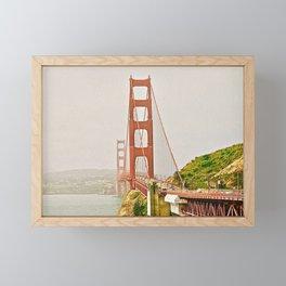 Golden Gate Bridge III Framed Mini Art Print